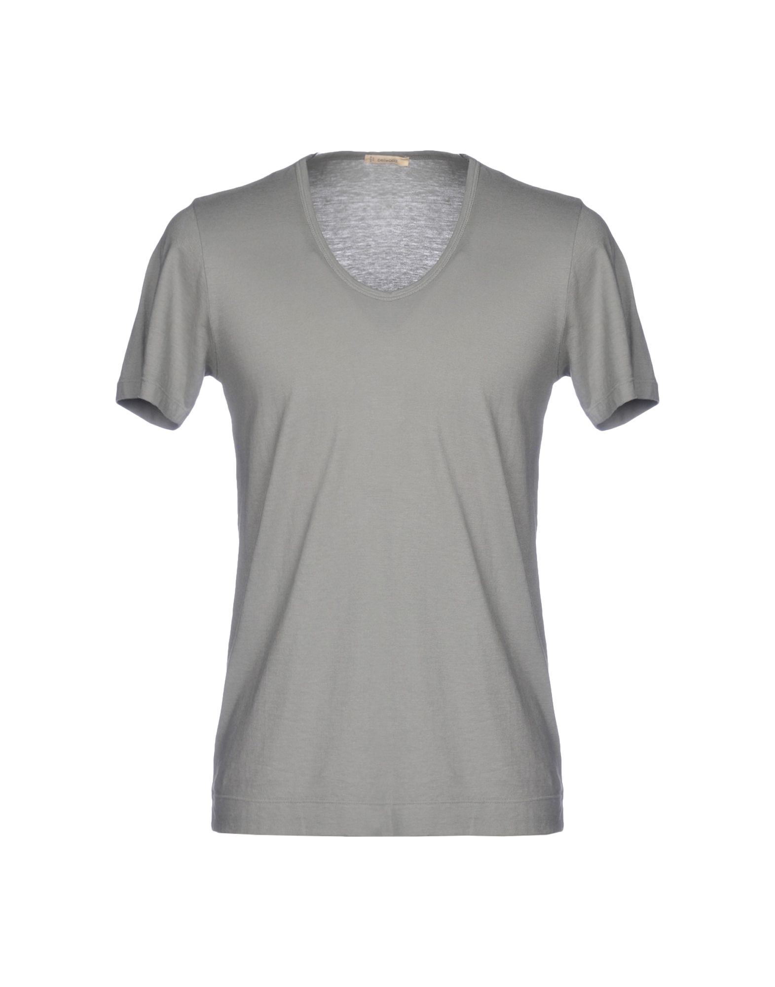 《送料無料》BELLWOOD メンズ T シャツ グレー 46 コットン 100%