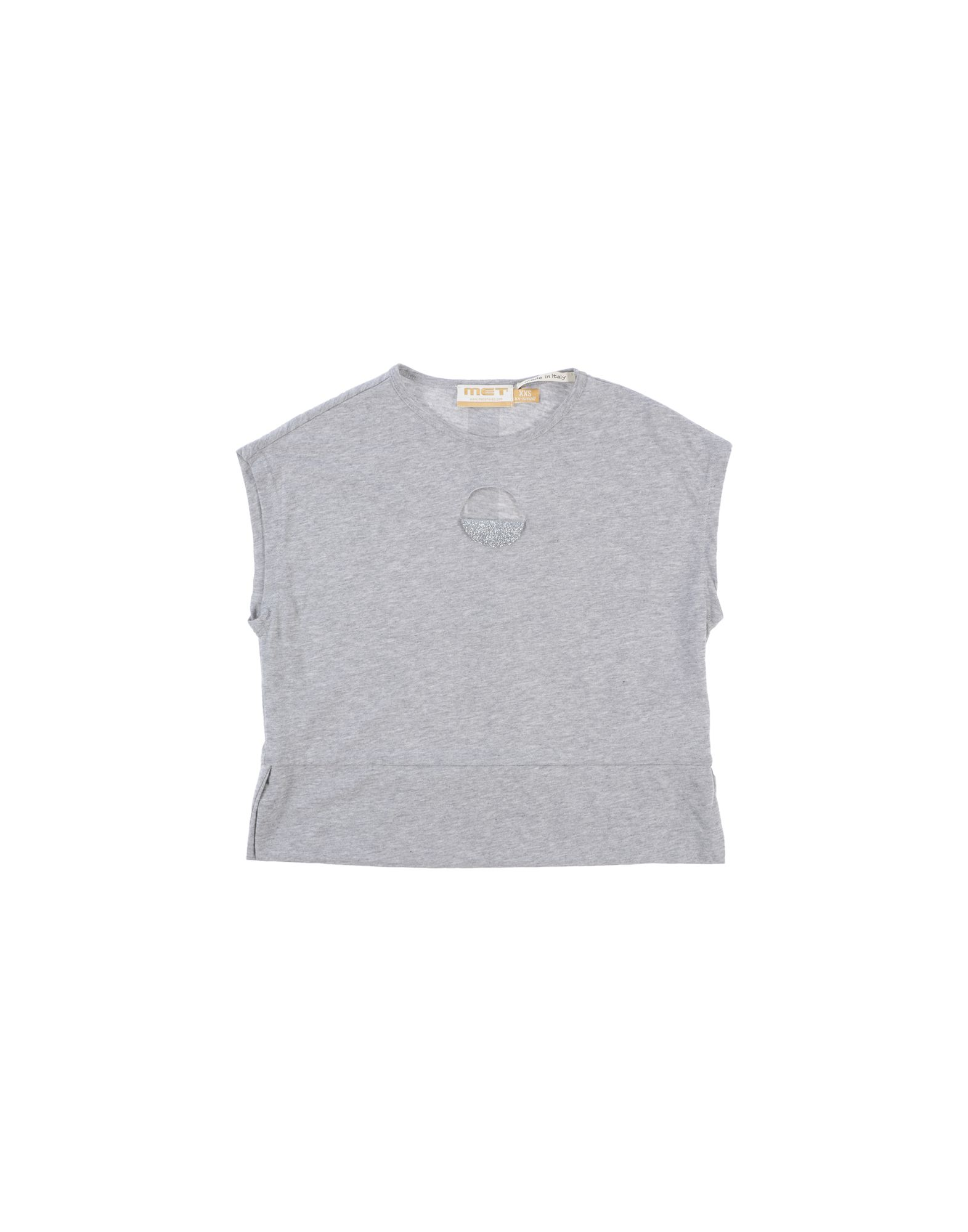 Met Jeans Kids' T-shirts In Gray