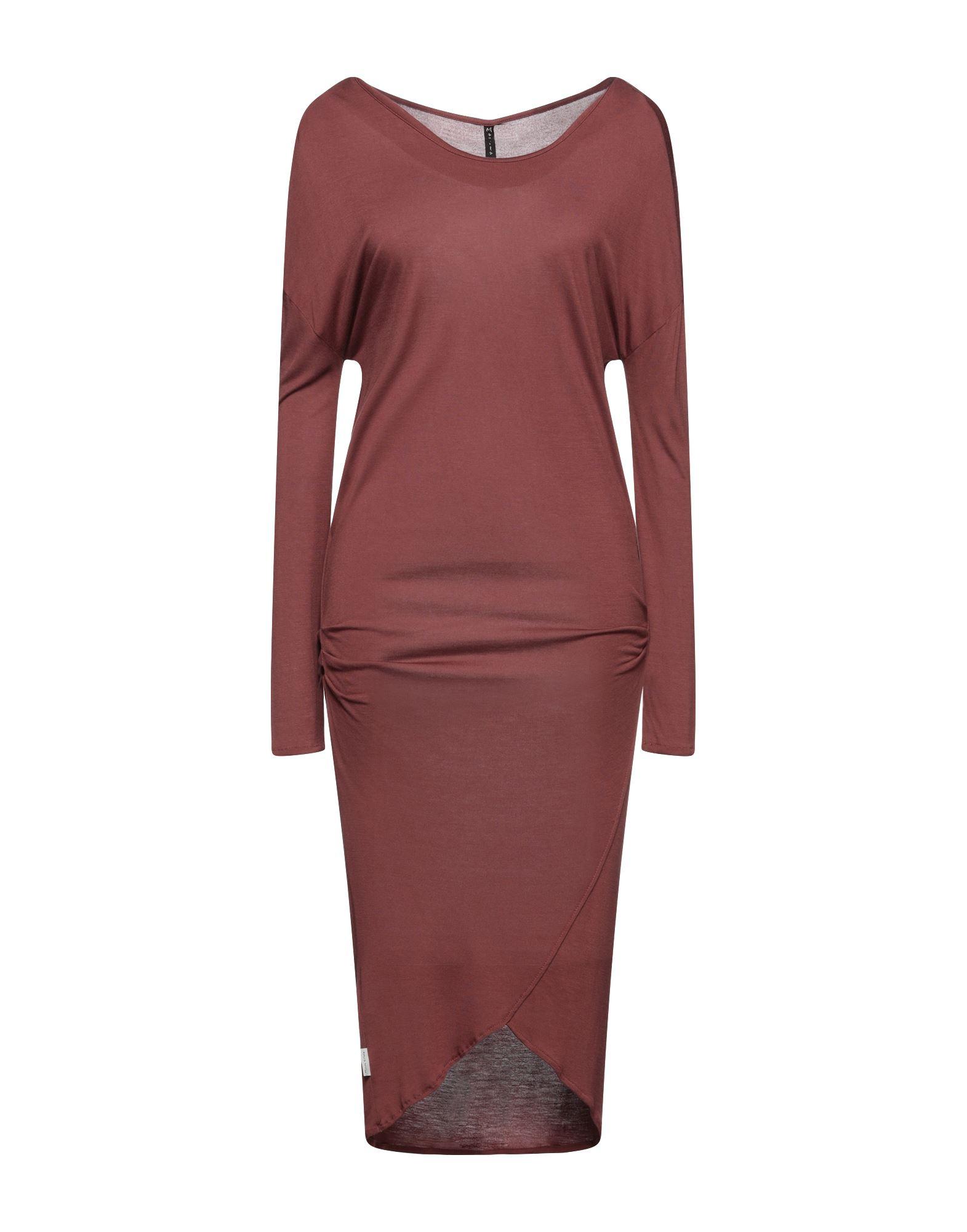 MANILA GRACE Платье длиной 3/4 manila grace длинное платье