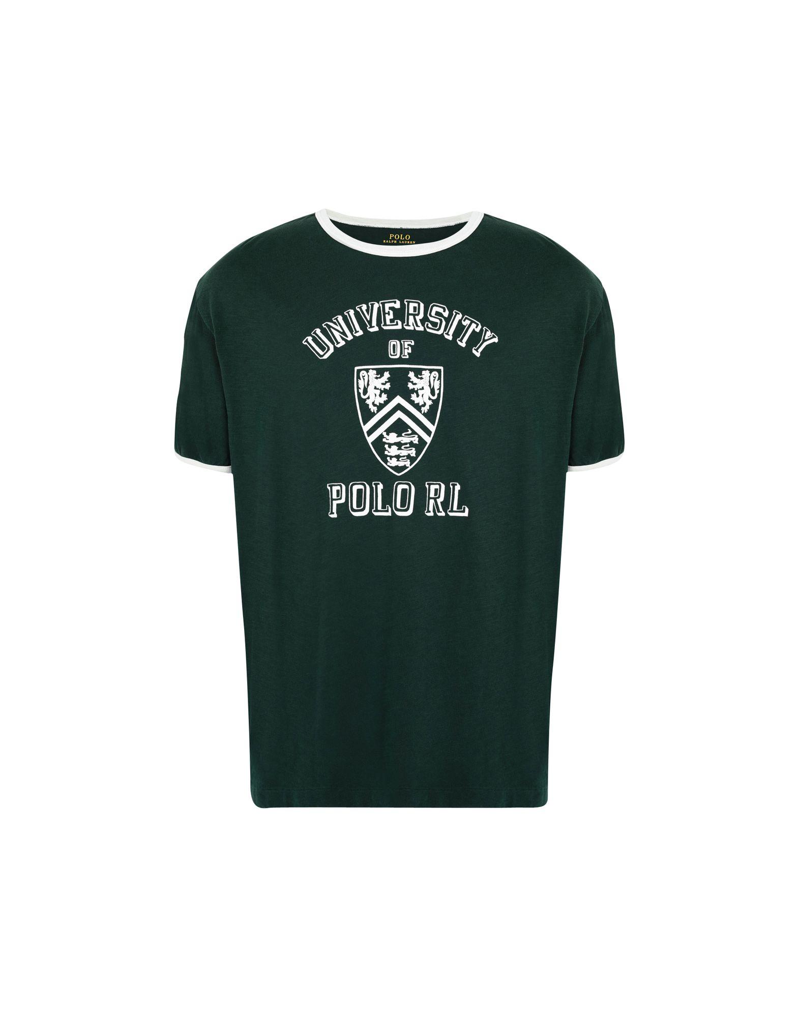 《送料無料》POLO RALPH LAUREN メンズ T シャツ ダークグリーン XS コットン 100% Custom Slim Fit Cotton T-Shirt