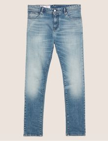 ARMANI EXCHANGE SKINNY-FIT WASHED LIGHT INDIGO JEAN Skinny jeans [*** pickupInStoreShippingNotGuaranteed_info ***] r