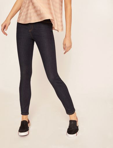 SUPER-SKINNY CLEAN DARK INDIGO JEAN