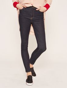 ARMANI EXCHANGE SUPER-SKINNY HIGH-RISE DARK INDIGO JEAN Skinny jeans Woman f