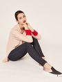 ARMANI EXCHANGE SUPER-SKINNY HIGH-RISE DARK INDIGO JEAN Skinny jeans Woman a
