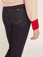 ARMANI EXCHANGE SUPER-SKINNY HIGH-RISE DARK INDIGO JEAN Skinny jeans Woman b