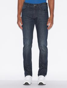 ARMANI EXCHANGE J13 SLIM-FIT CLEAN DARK INDIGO JEAN Slim fit JEANS [*** pickupInStoreShippingNotGuaranteed_info ***] f