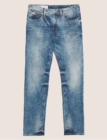 ARMANI EXCHANGE J22 TAPERED-FIT ACID WASH INDIGO JEAN Tapered Jean [*** pickupInStoreShippingNotGuaranteed_info ***] r