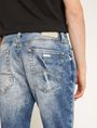 ARMANI EXCHANGE J22 TAPERED-FIT ACID WASH INDIGO JEAN Tapered Jean [*** pickupInStoreShippingNotGuaranteed_info ***] b