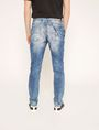 ARMANI EXCHANGE J22 TAPERED-FIT ACID WASH INDIGO JEAN Tapered Jean [*** pickupInStoreShippingNotGuaranteed_info ***] e