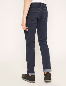ARMANI EXCHANGE J13 SLIM-FIT DARK INDIGO SATIN JEAN Slim fit JEANS [*** pickupInStoreShippingNotGuaranteed_info ***] e
