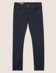 ARMANI EXCHANGE J13 SLIM-FIT DARK INDIGO SATIN JEAN Slim fit JEANS [*** pickupInStoreShippingNotGuaranteed_info ***] r