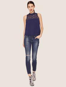 ARMANI EXCHANGE J01 SUPER-SKINNY RIPPED INDIGO JEAN Skinny jeans [*** pickupInStoreShipping_info ***] d