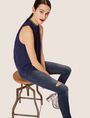 ARMANI EXCHANGE J01 SUPER-SKINNY RIPPED INDIGO JEAN Skinny jeans [*** pickupInStoreShipping_info ***] a