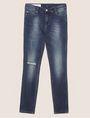 ARMANI EXCHANGE J01 SUPER-SKINNY RIPPED INDIGO JEAN Skinny jeans [*** pickupInStoreShipping_info ***] r