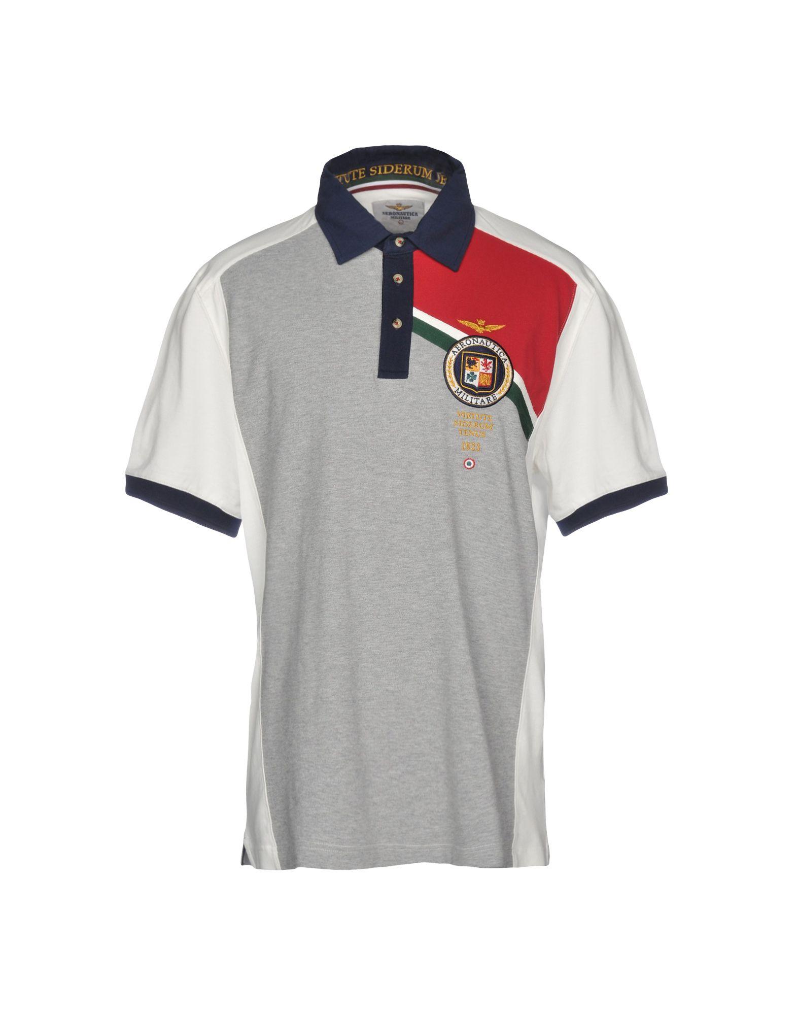 AERONAUTICA MILITARE   AERONAUTICA MILITARE Polo Shirts 12221431   Goxip