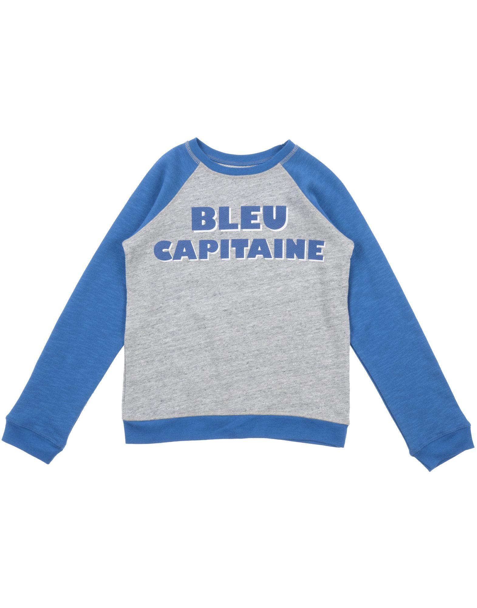 BONTON Jungen 9-16 jahre Sweatshirt2 blau