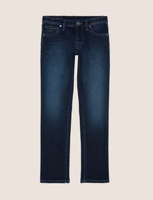 ARMANI EXCHANGE BOYS SLIM-FIT INDIGO FLEECE JEAN SLIM FIT JEANS [*** pickupInStoreShippingNotGuaranteed_info ***] f