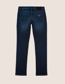 ARMANI EXCHANGE BOYS SLIM-FIT INDIGO FLEECE JEAN SLIM FIT JEANS [*** pickupInStoreShippingNotGuaranteed_info ***] r