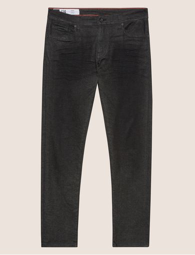 SKINNY-FIT CLEAN BLACK JEAN