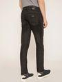 ARMANI EXCHANGE SKINNY-FIT CLEAN BLACK JEAN Skinny jeans Man e
