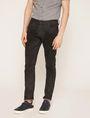 ARMANI EXCHANGE SKINNY-FIT CLEAN BLACK JEAN Skinny jeans Man f