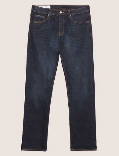 J16 STRAIGHT-FIT DARK INDIGO JEAN