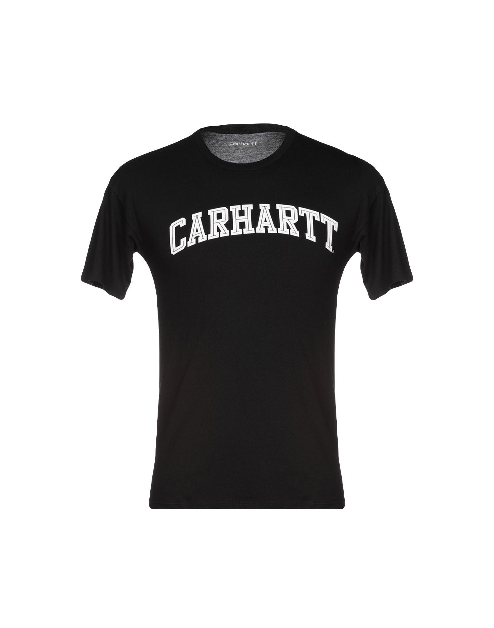 《送料無料》CARHARTT メンズ T シャツ ブラック XS コットン 100%