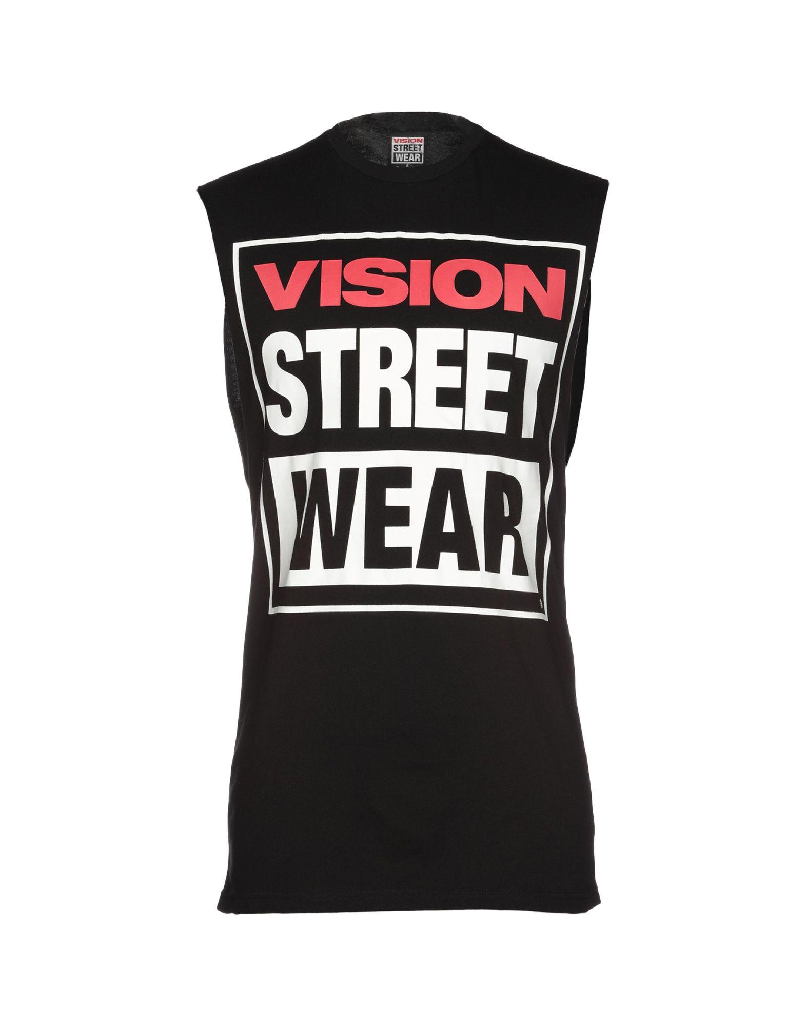 《送料無料》VISION STREET WEAR メンズ T シャツ ブラック S コットン 100%