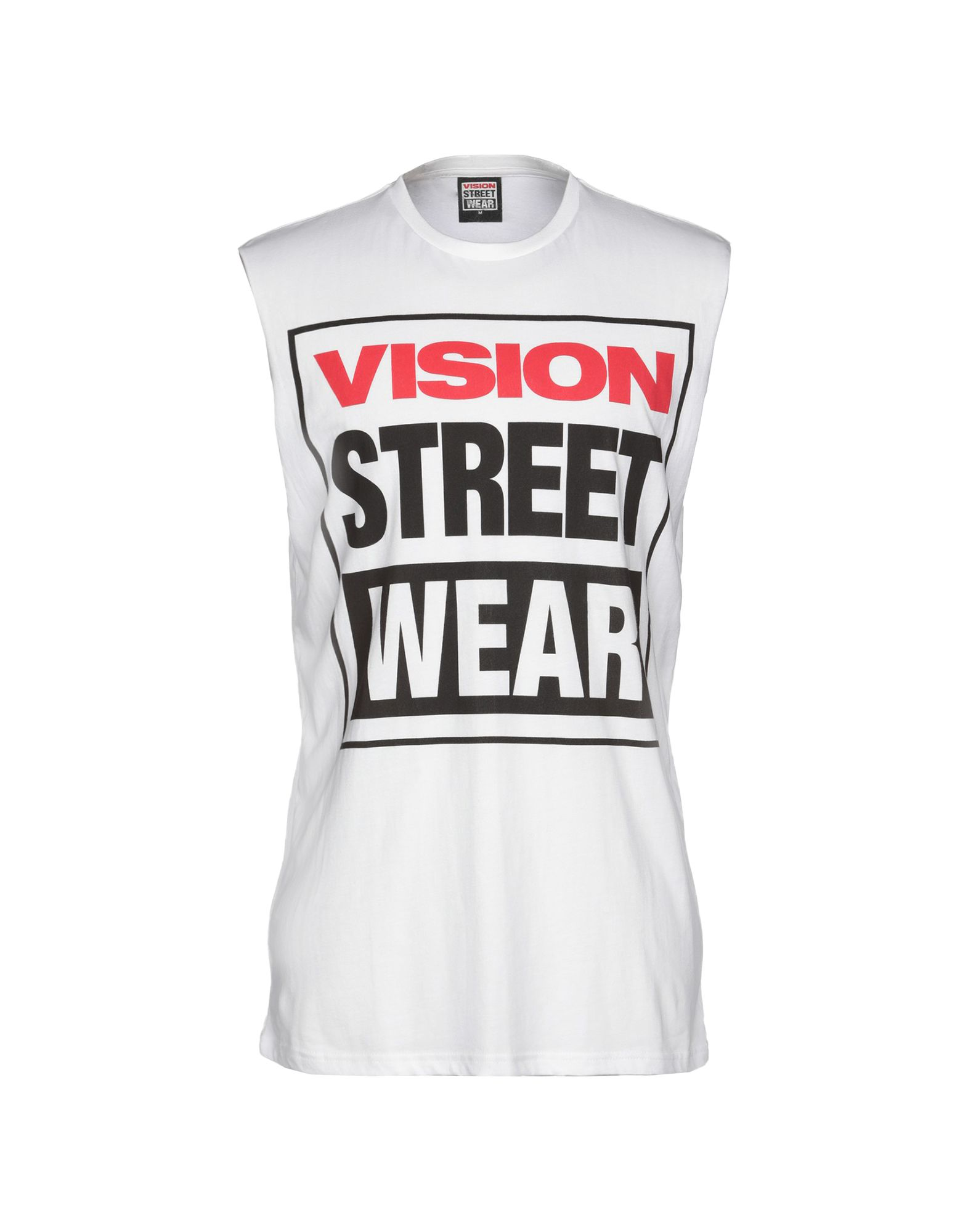 《送料無料》VISION STREET WEAR メンズ T シャツ ホワイト M コットン 100%