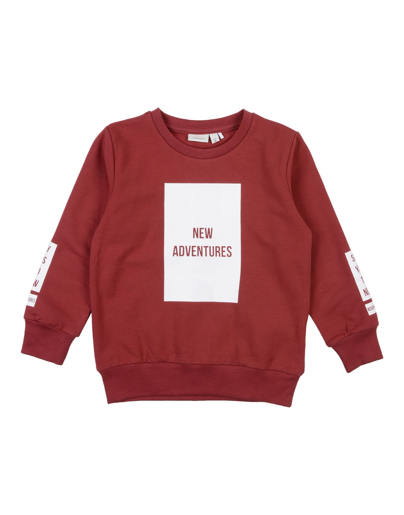 NAME IT® Jungen 3-8 jahre Sweatshirt5 bordeaux,rot