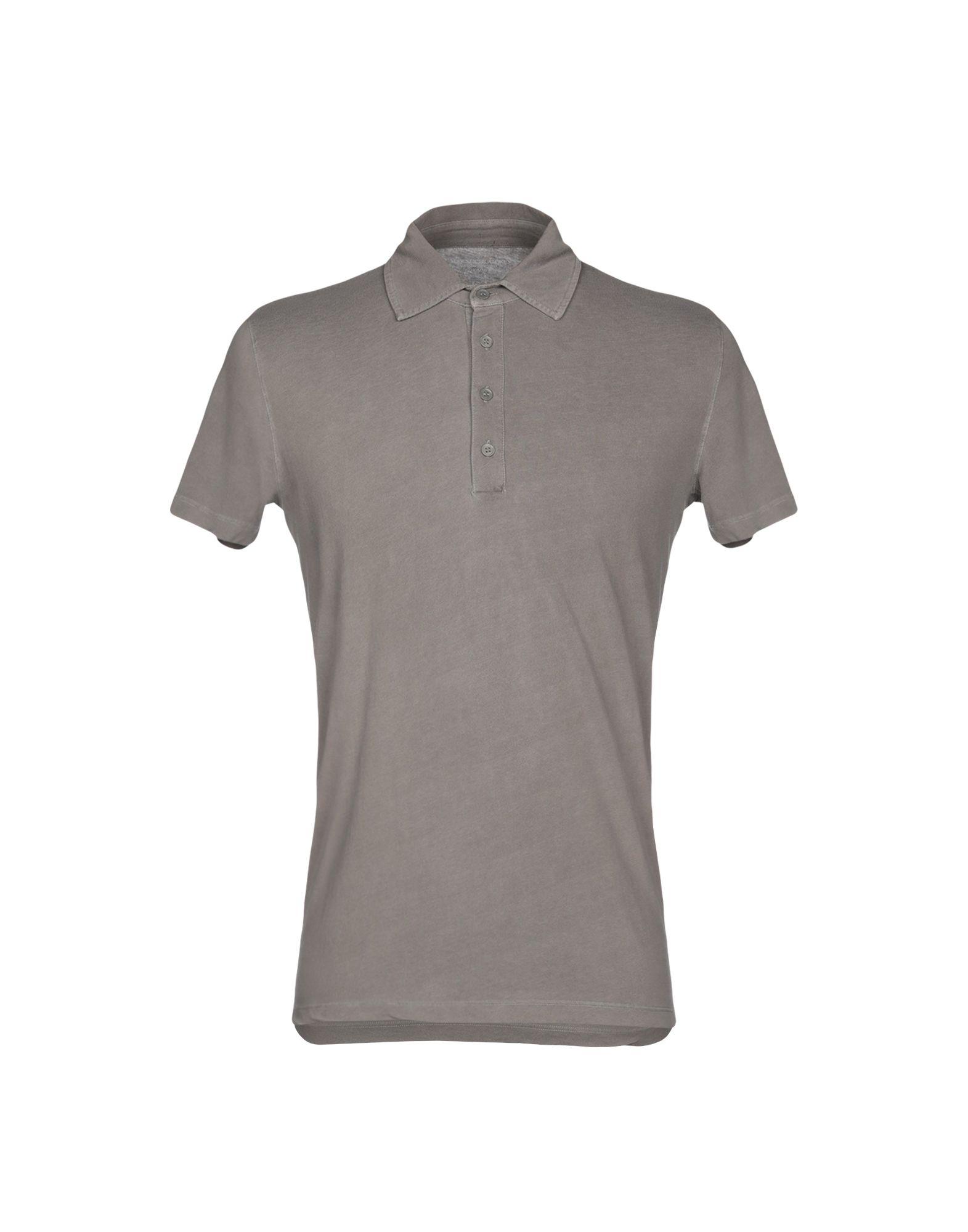 《期間限定セール開催中!》MAJESTIC FILATURES メンズ ポロシャツ グレー M コットン 94% / ポリウレタン 6%