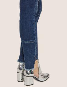 ARMANI EXCHANGE J25 SUPER-SKINNY HIGH-LOW RAW HEM JEAN Skinny jeans Woman b