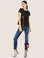 ARMANI EXCHANGE J25 SUPER-SKINNY HIGH-LOW RAW HEM JEAN Skinny jeans Woman d