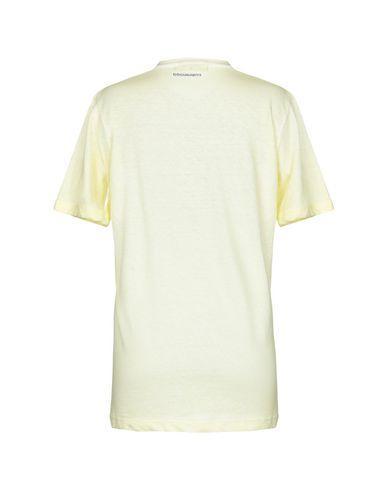 Фото 2 - Женскую футболку DSQUARED2 x K-WAY желтого цвета