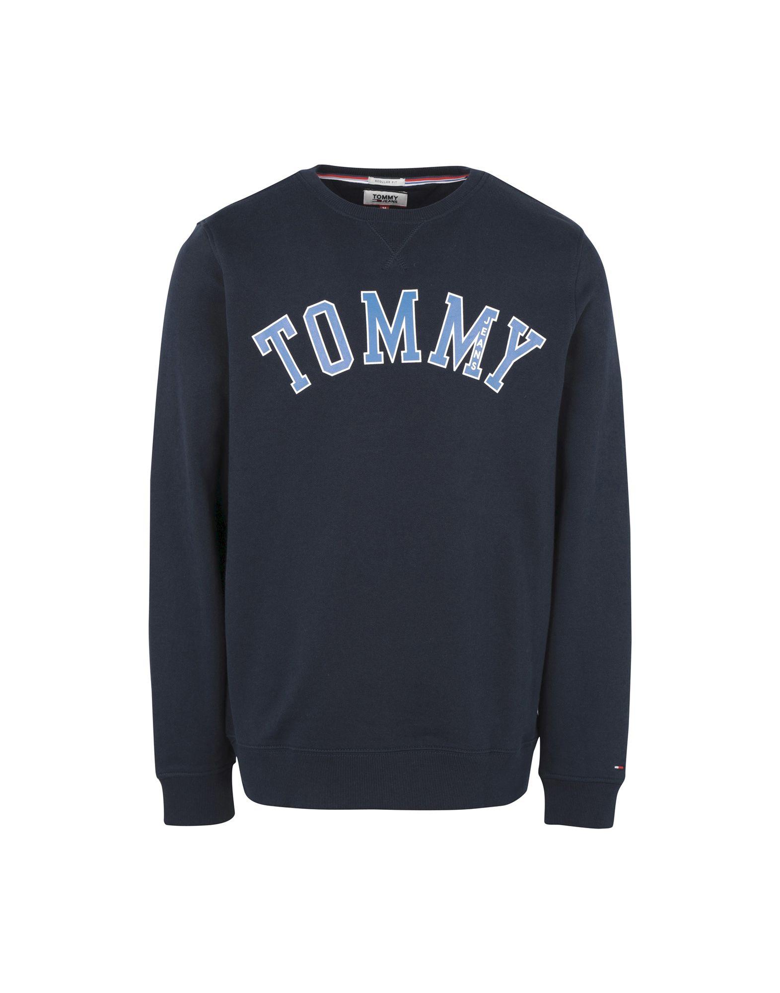 TOMMY JEANS Herren Sweatshirt5 blau