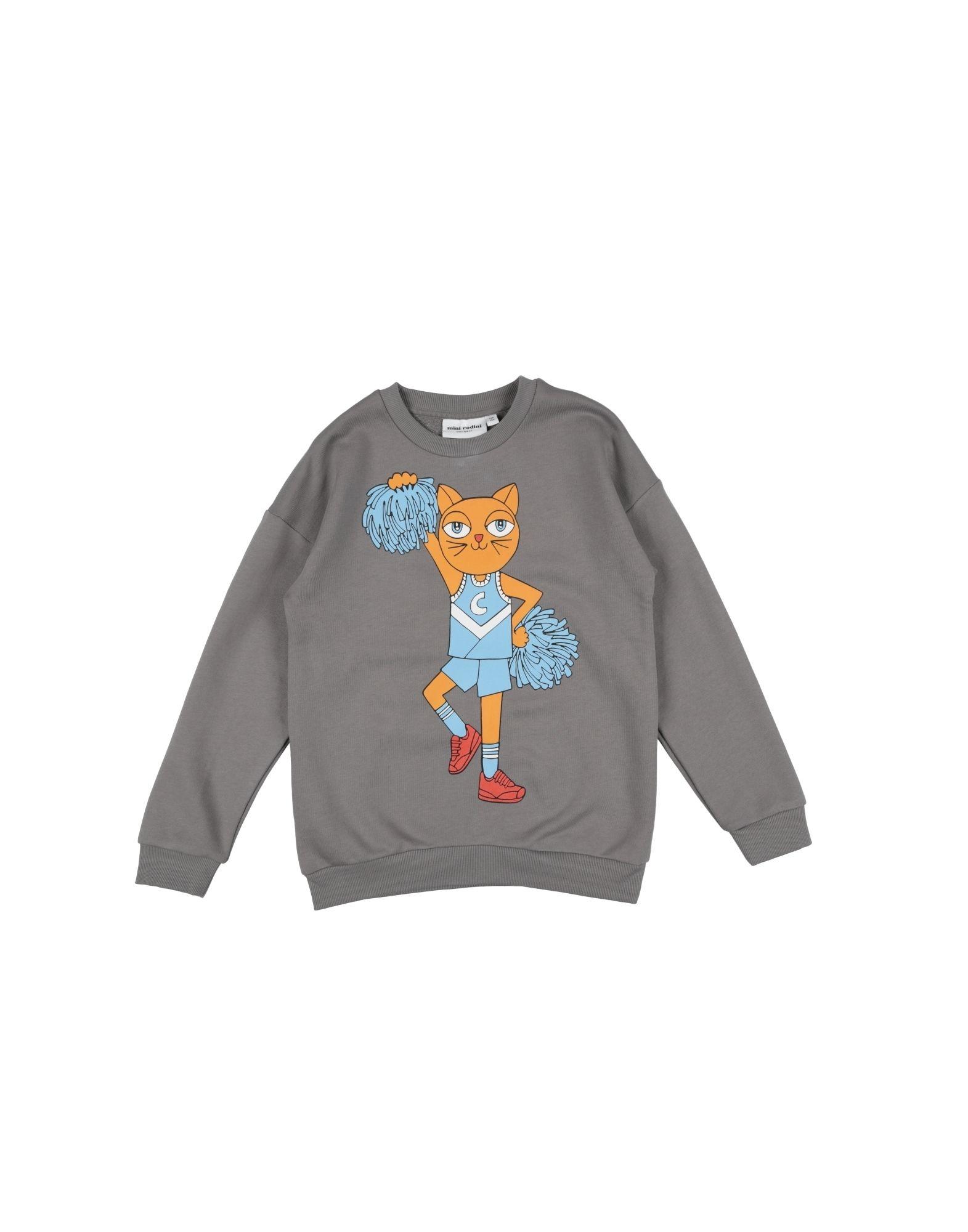 MINI RODINI Mädchen 9-16 jahre Sweatshirt1 grau