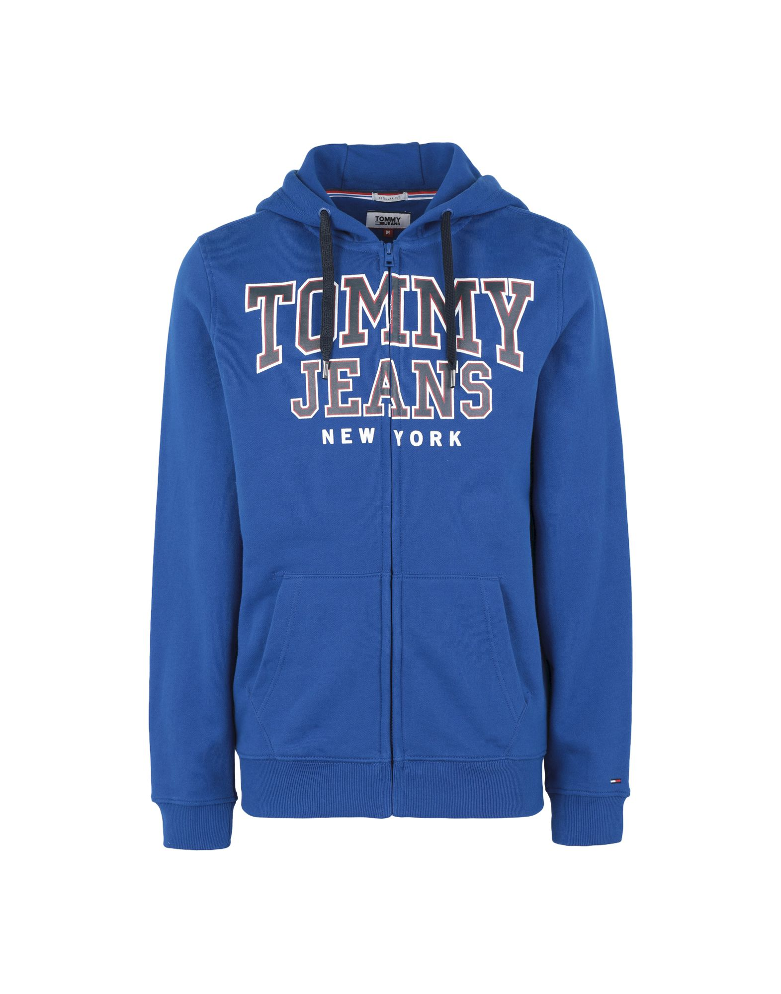 TOMMY JEANS Herren Sweatshirt4 blau