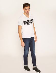 ARMANI EXCHANGE JEANS SLIM FIT LAVAGGIO INDACO Jeans slim [*** pickupInStoreShippingNotGuaranteed_info ***] d