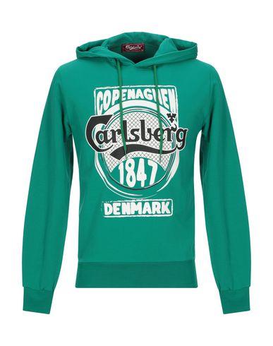 Купить Мужскую толстовку CARLSBERG зеленого цвета