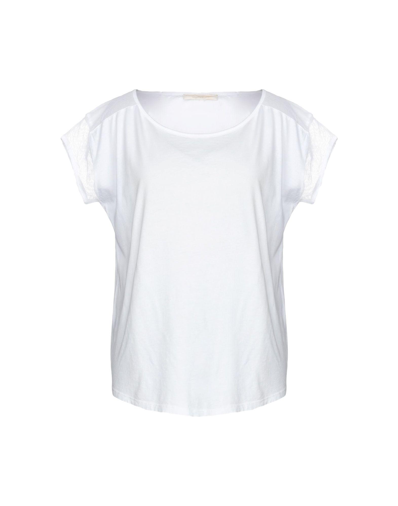 《期間限定セール中》LA FEE MARABOUTEE レディース T シャツ ホワイト 4 コットン 100%