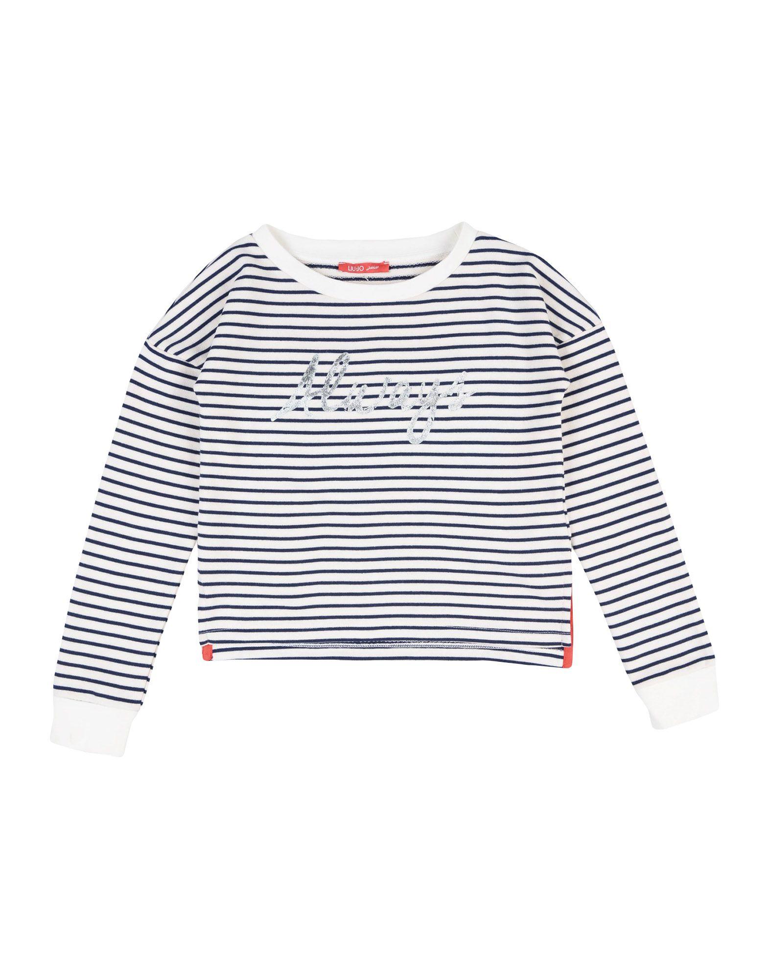 LIU •JO Mädchen 9-16 jahre Sweatshirt2 weiß
