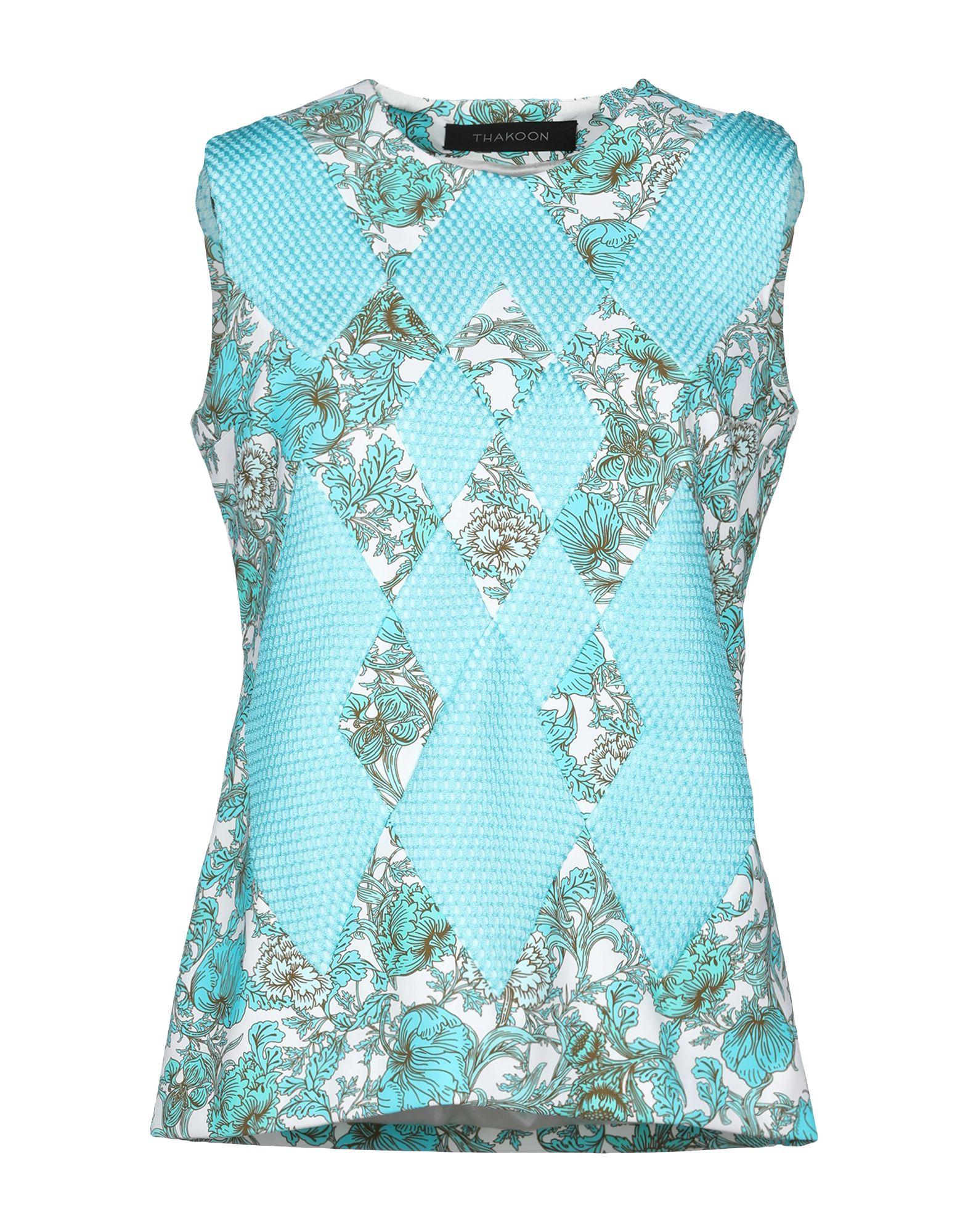 THAKOON Топ без рукавов thakoon addition короткое платье