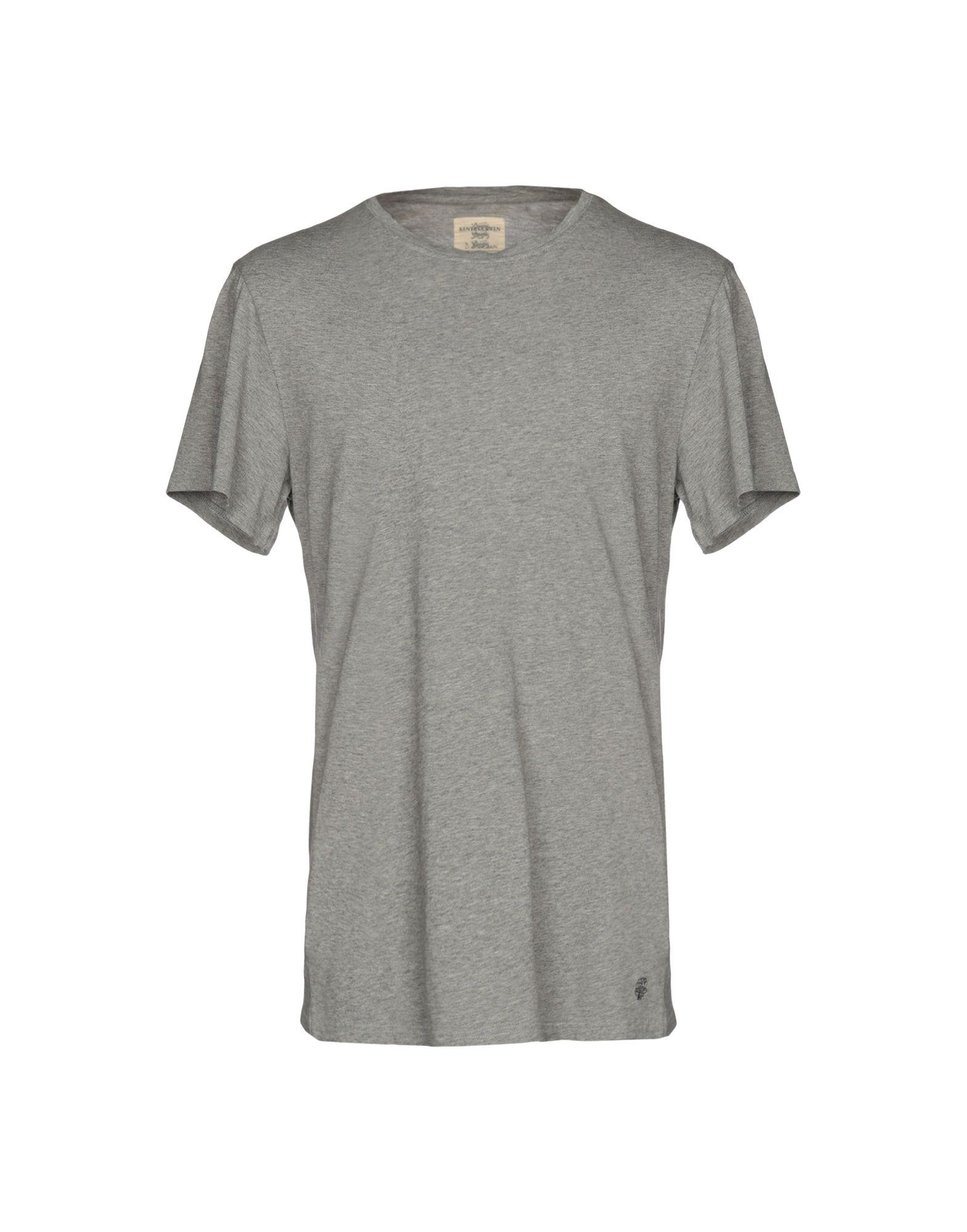 《送料無料》KENT & CURWEN メンズ T シャツ グレー M コットン 100%