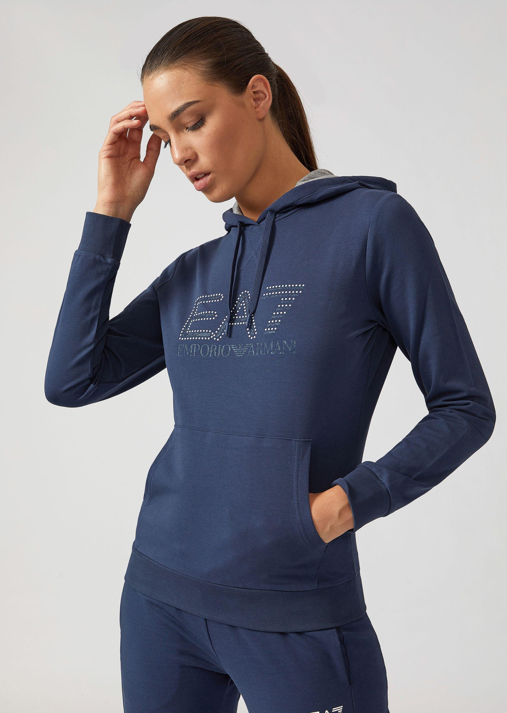 Hoodies - Item 12227339, Navy Blue