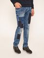 ARMANI EXCHANGE SLIM-FIT RIPPED AND REPAIRED INDIGO JEAN Slim fit JEANS [*** pickupInStoreShippingNotGuaranteed_info ***] f