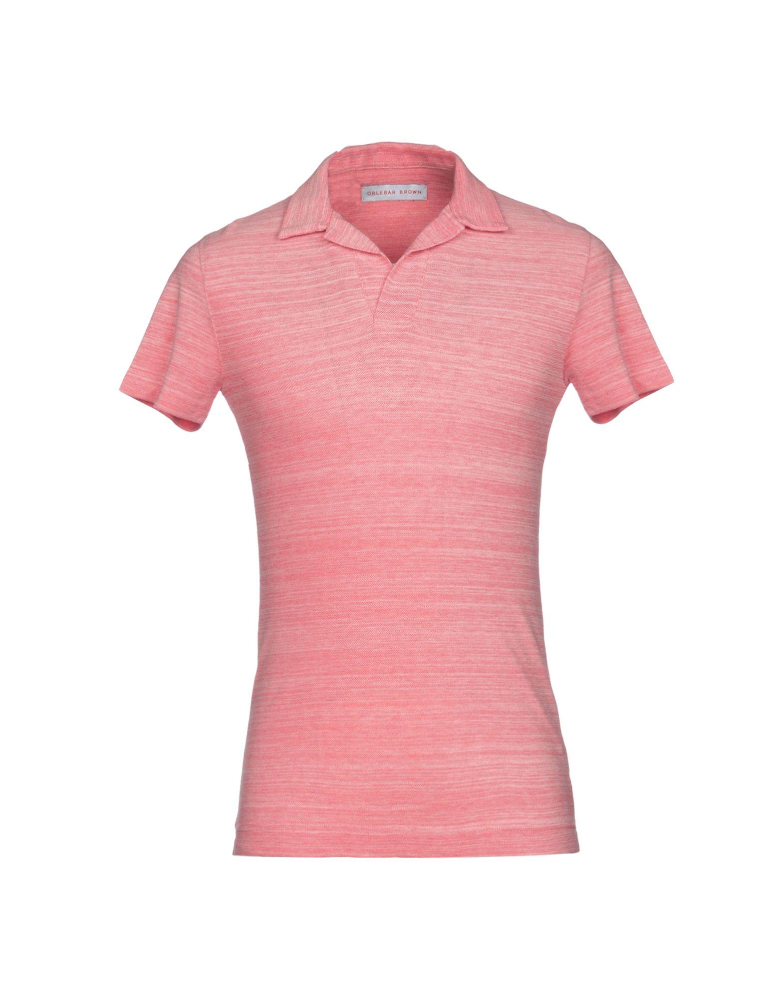 《送料無料》ORLEBAR BROWN メンズ ポロシャツ コーラル XS コットン 100%