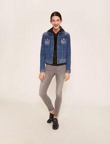 ARMANI EXCHANGE SUPER-SKINNY LOW-RISE RAW HEM JEAN Skinny jeans [*** pickupInStoreShipping_info ***] a