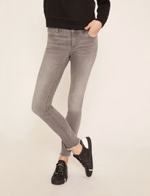 ARMANI EXCHANGE SUPER-SKINNY LOW-RISE RAW HEM JEAN Skinny jeans [*** pickupInStoreShipping_info ***] f