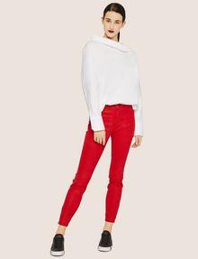 ARMANI EXCHANGE J14 COATED ZIP-UP MOTO JEGGING Skinny jeans Woman d