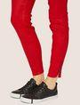 ARMANI EXCHANGE J14 COATED ZIP-UP MOTO JEGGING Skinny jeans Woman b